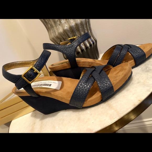 259894300f52 Chaps Shoes - Chaps Ladies Mid Wedge Shoes Sandals Size 7